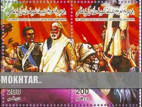 LIBYA - Omar El Mokhtar (music video with lyrics) !!! NEW WITH ANNOTATIONS !!!