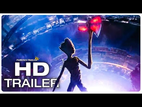 AVENGERS INFINITY WAR Groot Lifts Thor's New Hammer Stormbreaker Trailer NEW 2018 Superhero Movie HD