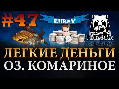 Трофейные Караси • Фарм Серебра • Как поймать трофей? • Озеро Комариное • Русская Рыбалка 4 #47