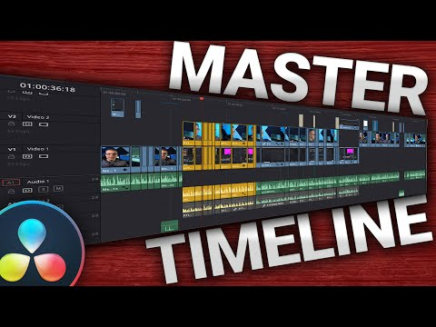 Color grade FASTER w/ MASTER TIMELINE | Davinci Resolve Tutorial thumbnail