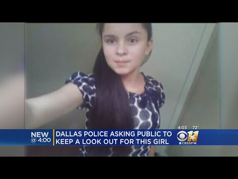 Dallas Police Searching For 13-Year-Old Possibly Being Sold For Sex By Her Father