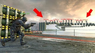 THEY WERE TRYING TO TRICK ME INTO FALLING OFF THE MAP!!!!! (BLACK OPS 2 HIDE N' SEEK)
