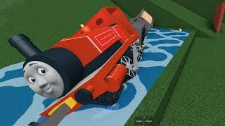 Thomas and Friends Roblox Surprises crash