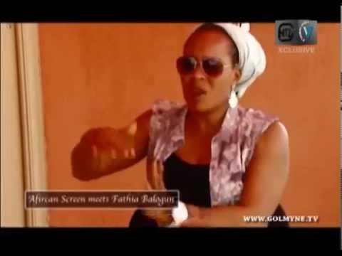 MY RELATIONSHIP WITH SAIDI BALOGUN - ACTRESS FATHIA BALOGUN'S INTERVIEW