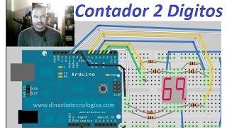 Video Contador de 2 Dígitos con Arduino (Multiplexacion) download MP3, 3GP, MP4, WEBM, AVI, FLV April 2018
