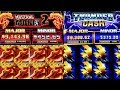 High Limit Thunder Cash Slot & Mustang Money 2 Slot Machine Bonuses Won | Live Slot Play | Las Vegas
