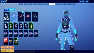New fortnite leaked ingame skin/pickaxe season 9 -Breakpoint skin - Waypoint set