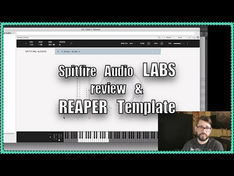 LABS Free VSTi from Spitfire  - REAPER Template