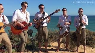 Uptown Funk by Mark Ronson Acoustic Cover by The Travelling Hands