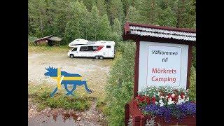 Wohnmobil-Schweden-Rundreise#7: Nationalpark mit Wasserfall & Camping am Fluss
