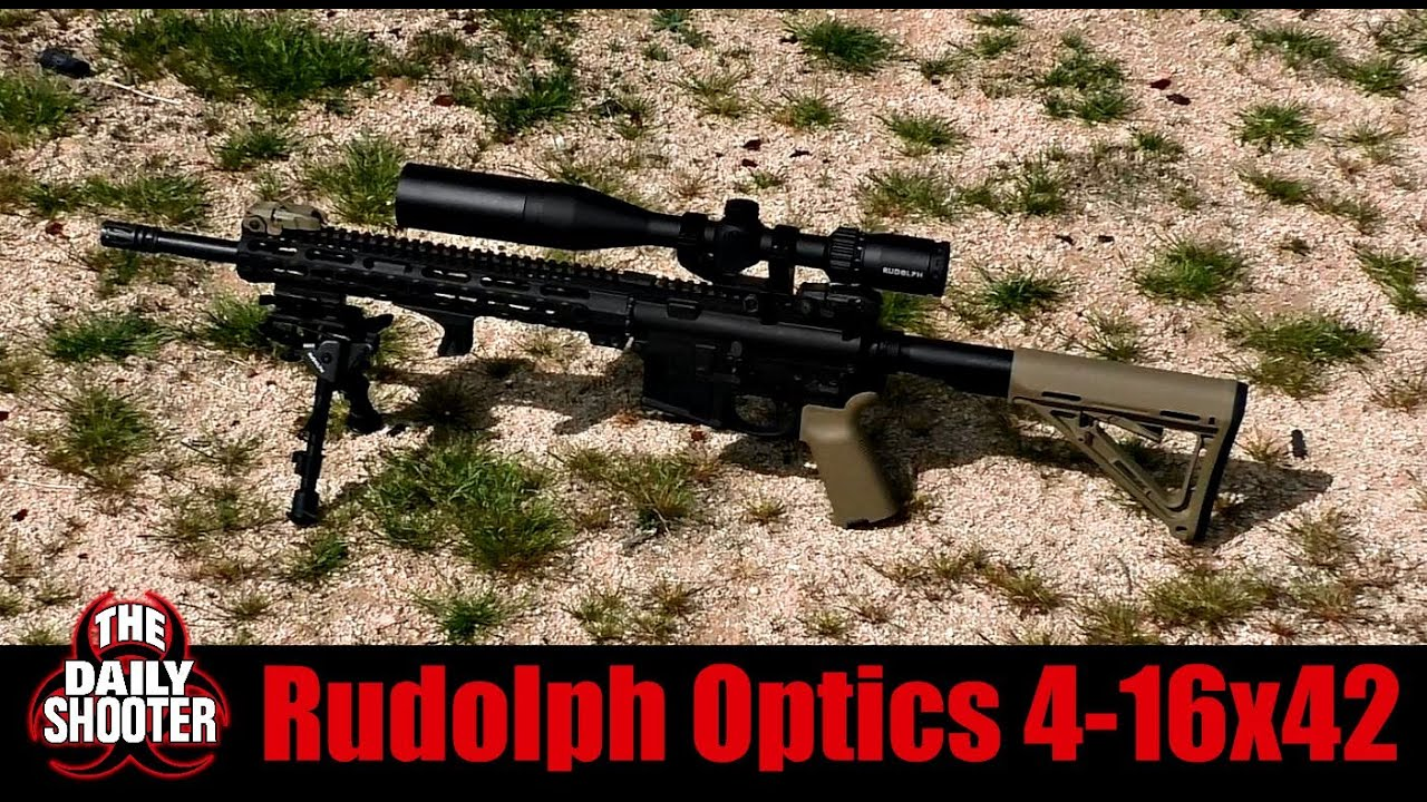 Rudolph Optics 4-16x42mm Scope Review and Shooting Discount Code in Description Box