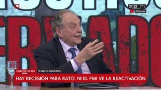 23-07-2019 - Carlos Heller en C5N – Minuto Uno, con Antonio Fernández Llorente – #InformeFMI