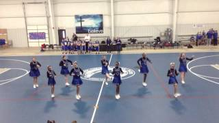 6th Grade Cheer Squad Homecoming