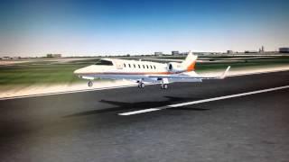 [FS2004] Learjet 45 • Chicago O