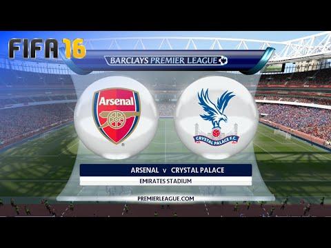 "FIFA 16 - Arsenal vs. Crystal Palace ""London Derby"" @ Emirates Stadium"