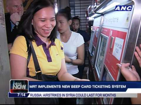 MRT implements new 'Beep card' system