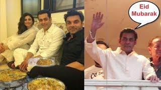 Salman Khan Eid Celebration 2019 Full Video