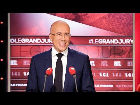 Éric Ciotti était l'invité du Grand Jury dimanche 10 septembre 2017