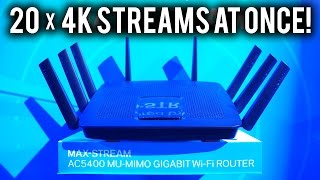 Stream Like a King w/ LINKSYS EA9500 MAX-STREAM