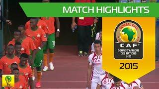 Zambia vs Tunisia | U-23 Africa Cup Of Nations, SENEGAL 2015