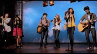 Miley Cyrus, Jonas Brothers, Demi Lovato & Selena Gomez -  Send It On (Official Music Video)