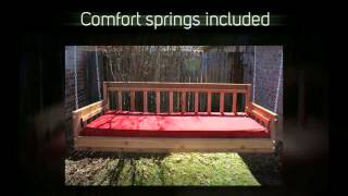 Tmp Outdoor Furniture American Red Cedar Daybed Swing