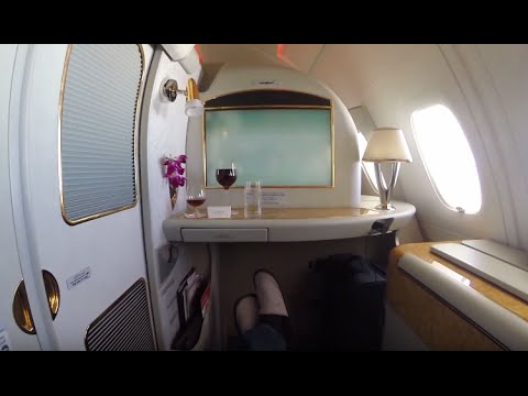 My $60,000 Around the World Trip on Emirates First Class for $300