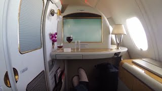 my 60 000 around the world trip on emirates first class for 300