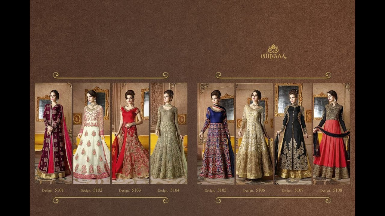 817866572 Latest Indian Dresses Collections 2017 || NIRVANA SAMPANN || Wedding Wear  Traditional Designer