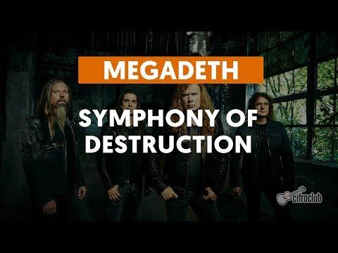 Symphony Of Destruction - Megadeth (aula de guitarra)