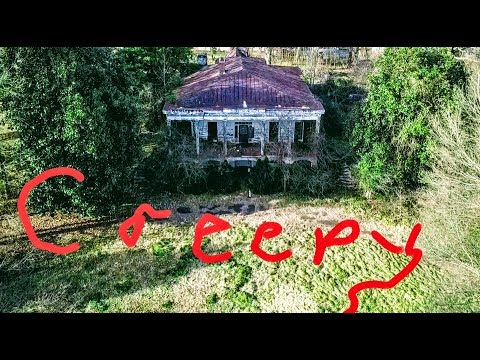 Creepy property behind Signal Hill Mall in Statesville North Carolina. With Commentary