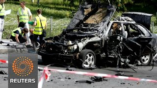 Ukrainian colonel killed by car bomb in Kiev