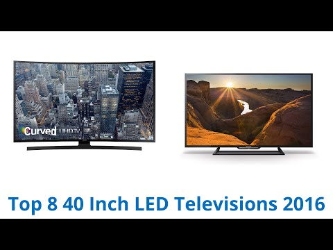 8 Best 40 Inch LED Televisions 2016