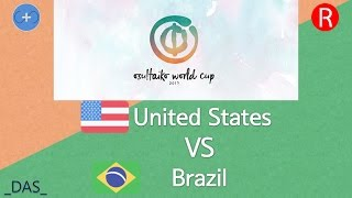 Osu Taiko World Cup 2017 Group Stage Group E United States Vs Brazil