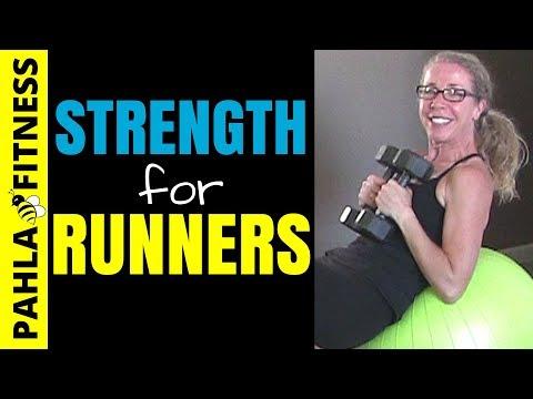 * Full Body STRENGTH + STABILITY for RUNNERS   20 Minute DUMBBELL Workout