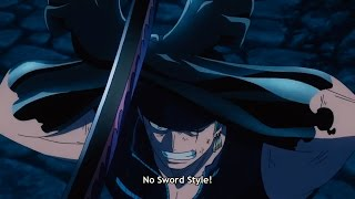 Video Zorro No Sword Style - One Piece Gold download MP3, 3GP, MP4, WEBM, AVI, FLV Agustus 2018