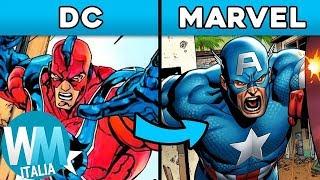 Top 10 SUPEREROI che la DC ha COPIATO dalla MARVEL!