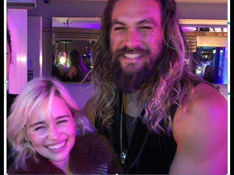 Emilia Clarke Reunites With Jason Momoa, Confirms He's Still Her Sun and Stars