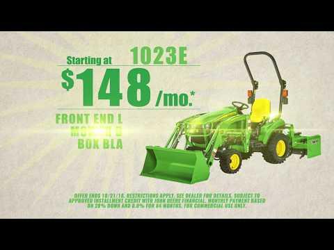 John Deere 1023E Tractor Package | $148 Per Month