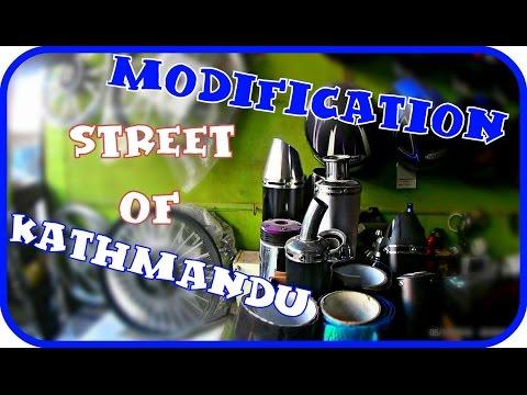Modification street of Kathmandu | Dual Ride | Annapurna Base Camp | Moto Vlog