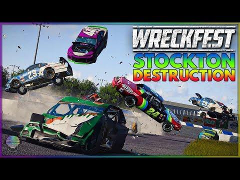 Stockton Destruction! | Wreckfest