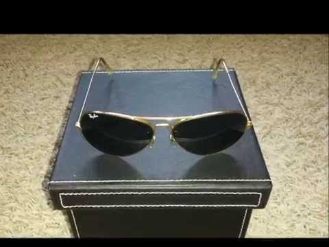 fcb8c6c887 B L Ray-Ban Aviator L2846 - YouTube