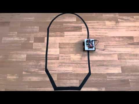 Arduino Çizgi İzleyen Robot Www.robotdevreleri.com