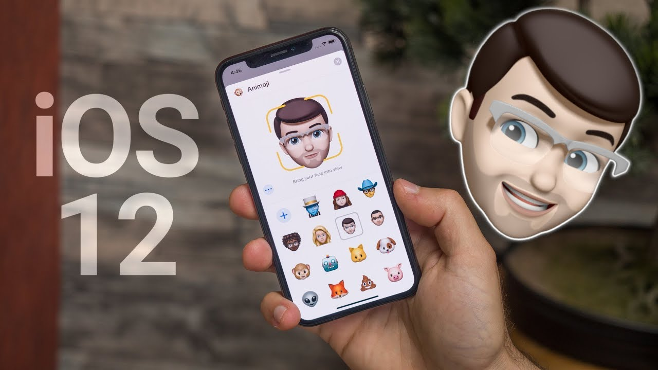 Memoji & Animoji in iOS 12