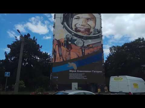 The biggest graffiti on a residential building in Ukraine.Самое большое граффити на жилом здании