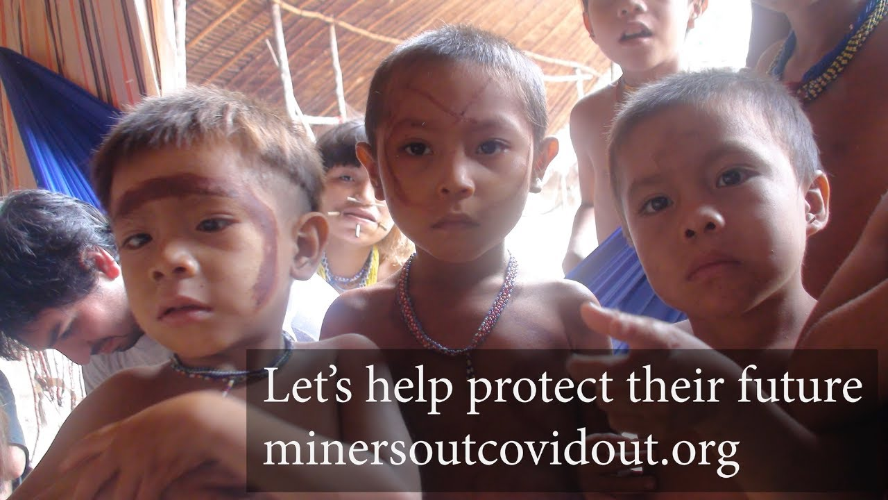 Kick out the illegal gold miners