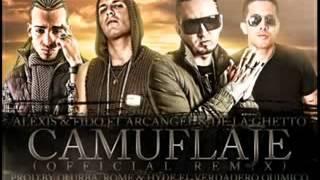 Download Camuflaje Remix (Alexis & Fido Ft Arcangel & De La Ghetto) 2011®(240p_H.263-MP3).flv