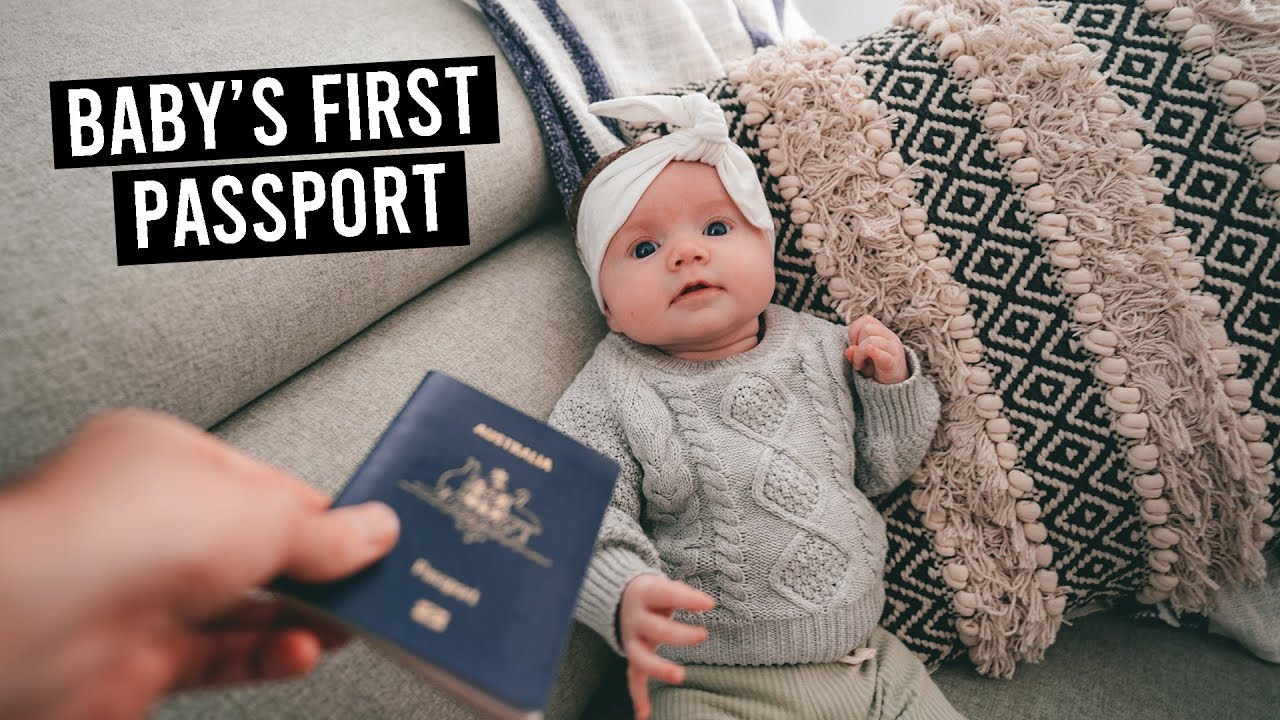 Our Baby's First Passport