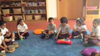 Percussion Family Preschool Teaching Idea