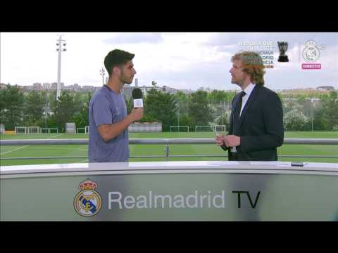 Marco Asensio | Real Madrid Open Media Day Final Champions 2017